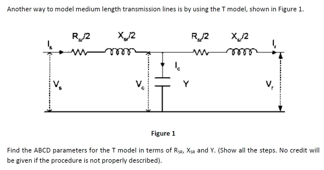 Another way to model medium length transmission li