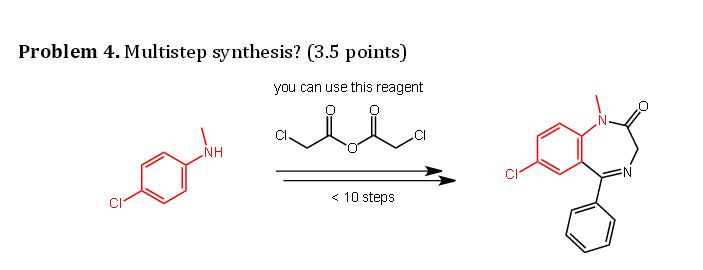 multistep synthesis A three-step procedure appropriate for an advanced-level undergraduate organic chemistry laboratory course has been developed for the synthesis of 5-(2-sulfhydrylethyl)salicylaldehyde.