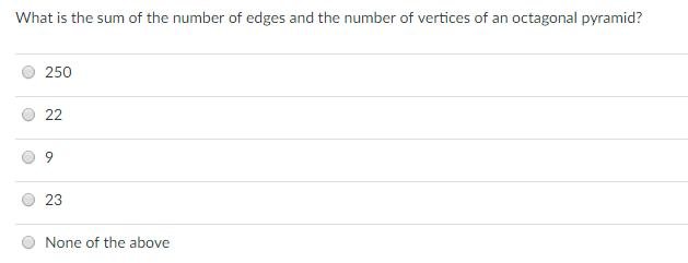 Properties of 3D Shapes Explained Diagram