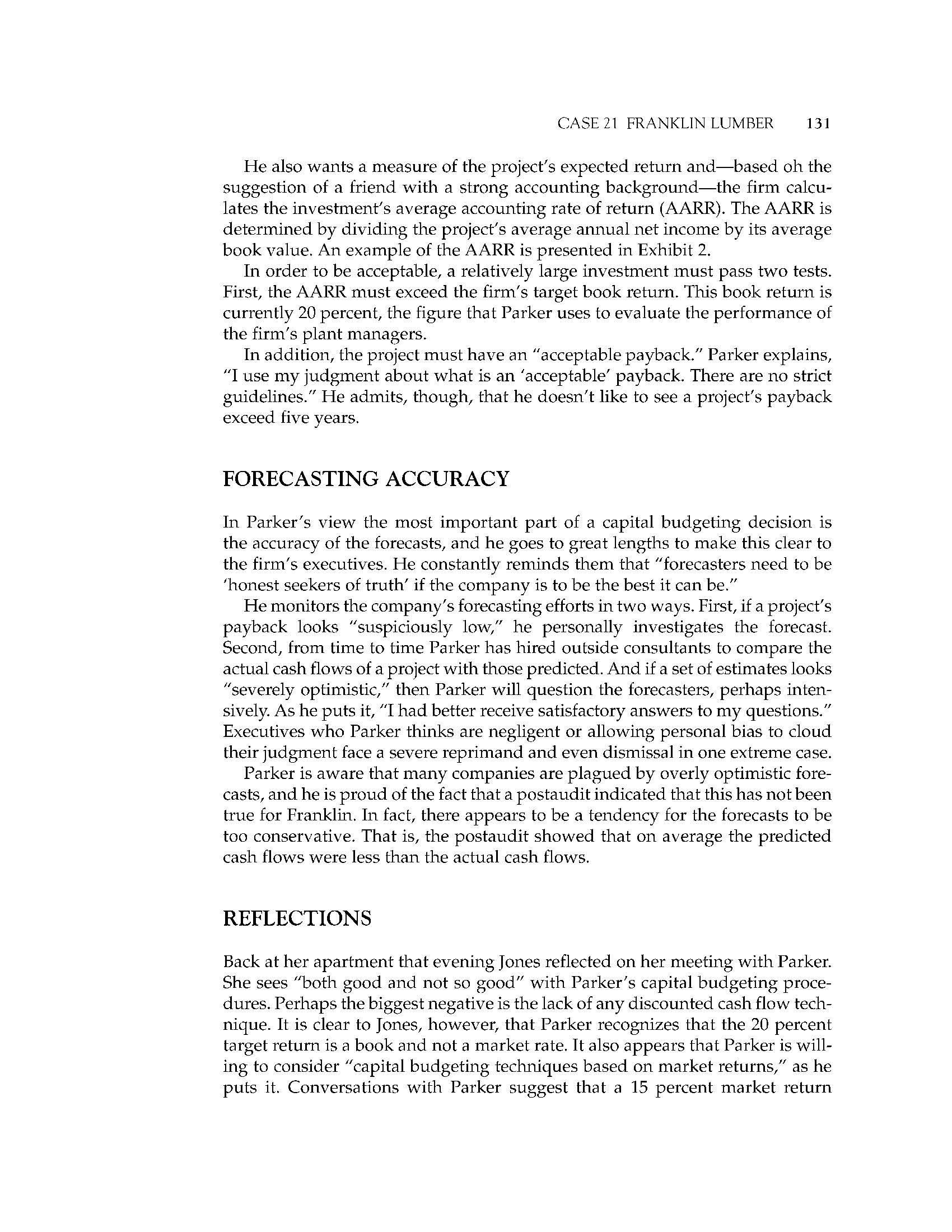 cartwright lumber case study solution Free case study solution & analysis | caseforestcom memo re clarkson lumber to: john doe president, northrup national bank.