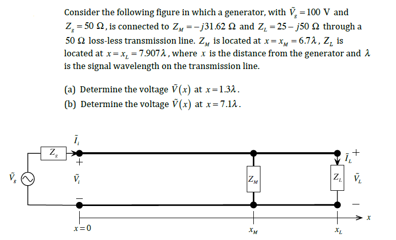 Consider the following figure in which a generator