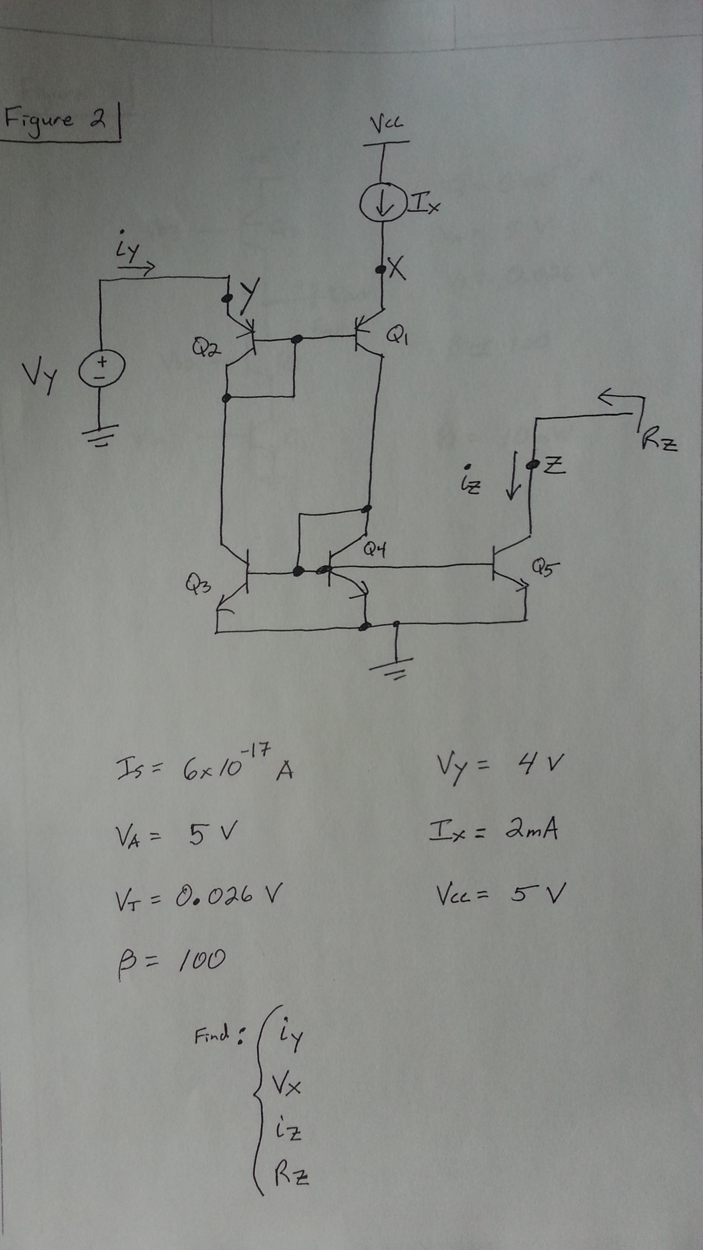 Figure 2: large-signal circuit This circuit has so