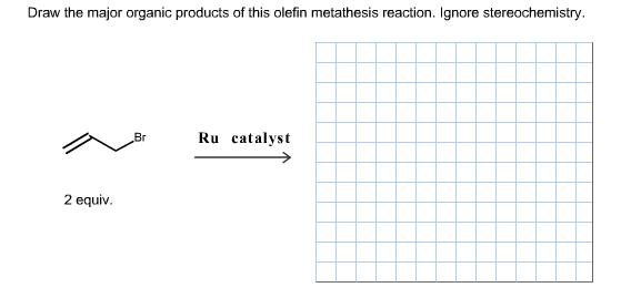 olefin metathesis reaction