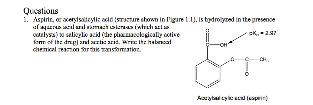 acetylsalicylic acid synthesis The synthesis of aspirin is classified as an esterification reaction salicylic acid is  treated with acetic anhydride, an acid derivative,.