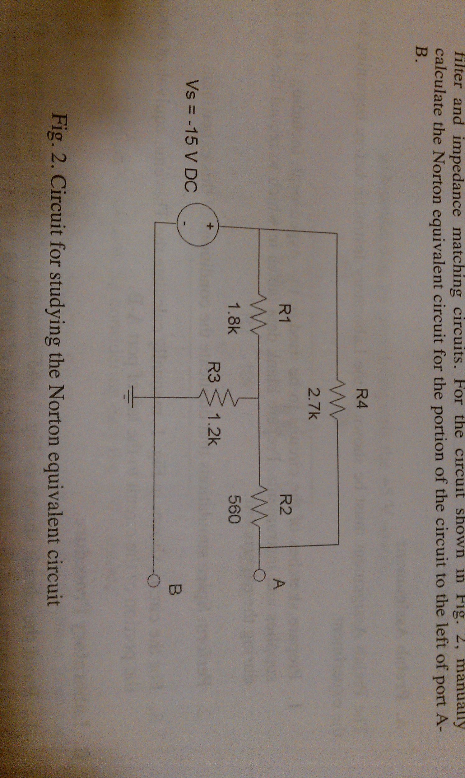 filter and impedance matching circuits. For the ci