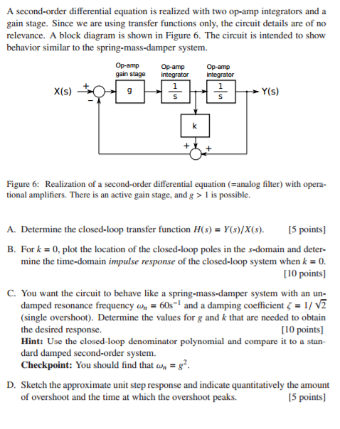 how to solve second order differential equations