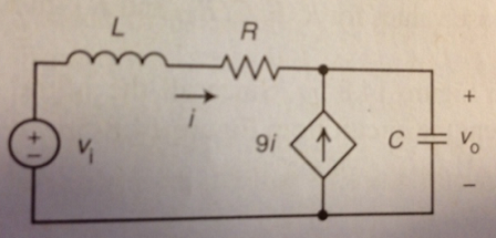 The input to the circuit shown in Fig 5 is the vol