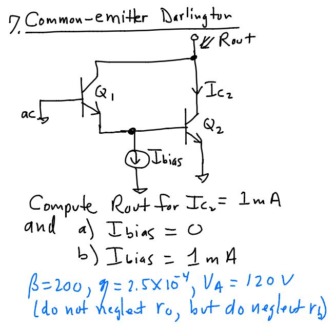 Compute Root for Icr = 1 mA and Ibias = 0 Ibia