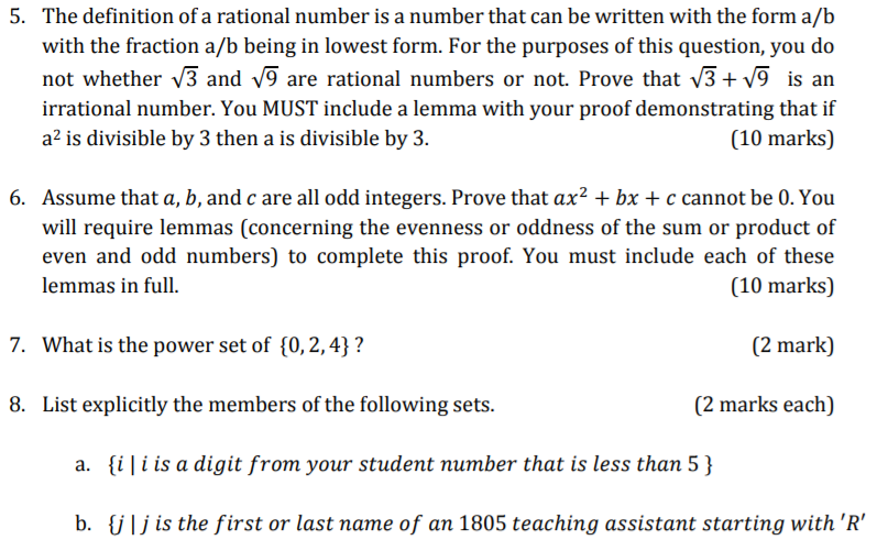 The Definition Of A Rational Number Is That Can Be Written With