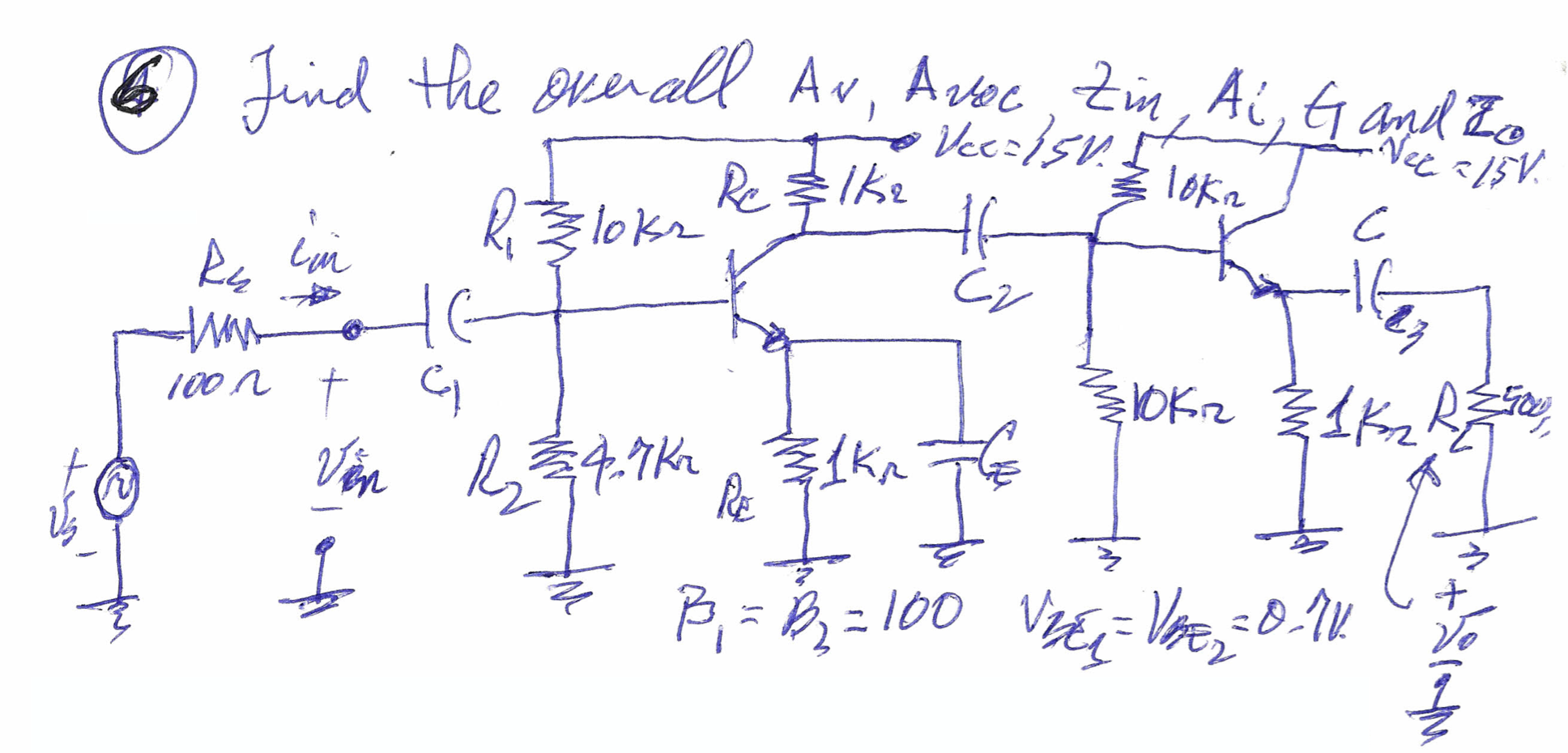 solve for the circuit