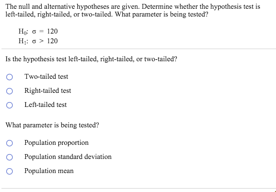 The Null And Alternative Hypotheses Are Given Det – Hypothesis Testing Worksheet