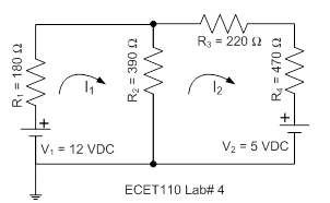For the circuit below, predict circuit characteris