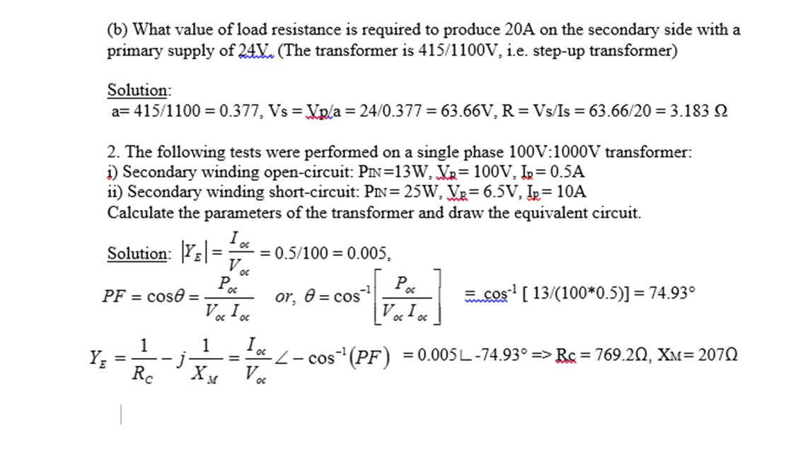 What value of load resistance is required to produ