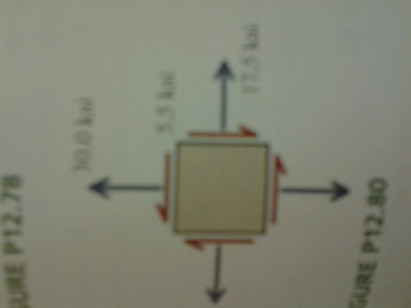 Draw Mohrs circle for this state of stress Determi