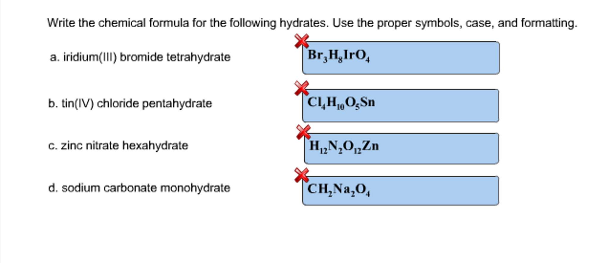 Symbol for sodium nitrate choice image symbol and sign ideas solved write the chemical formula for the following hydra question write the chemical formula for the biocorpaavc