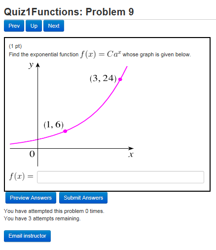 how to find the multiplier for exponential decay
