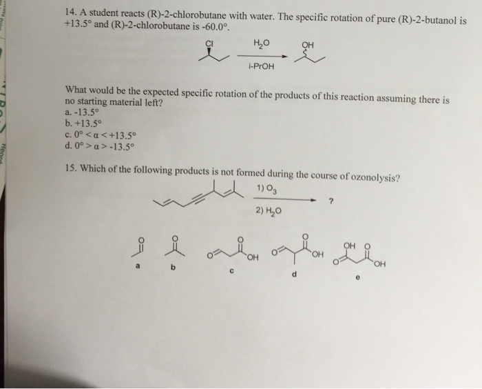 R 2 Chlorobutane Chemistry Archive | Ju...