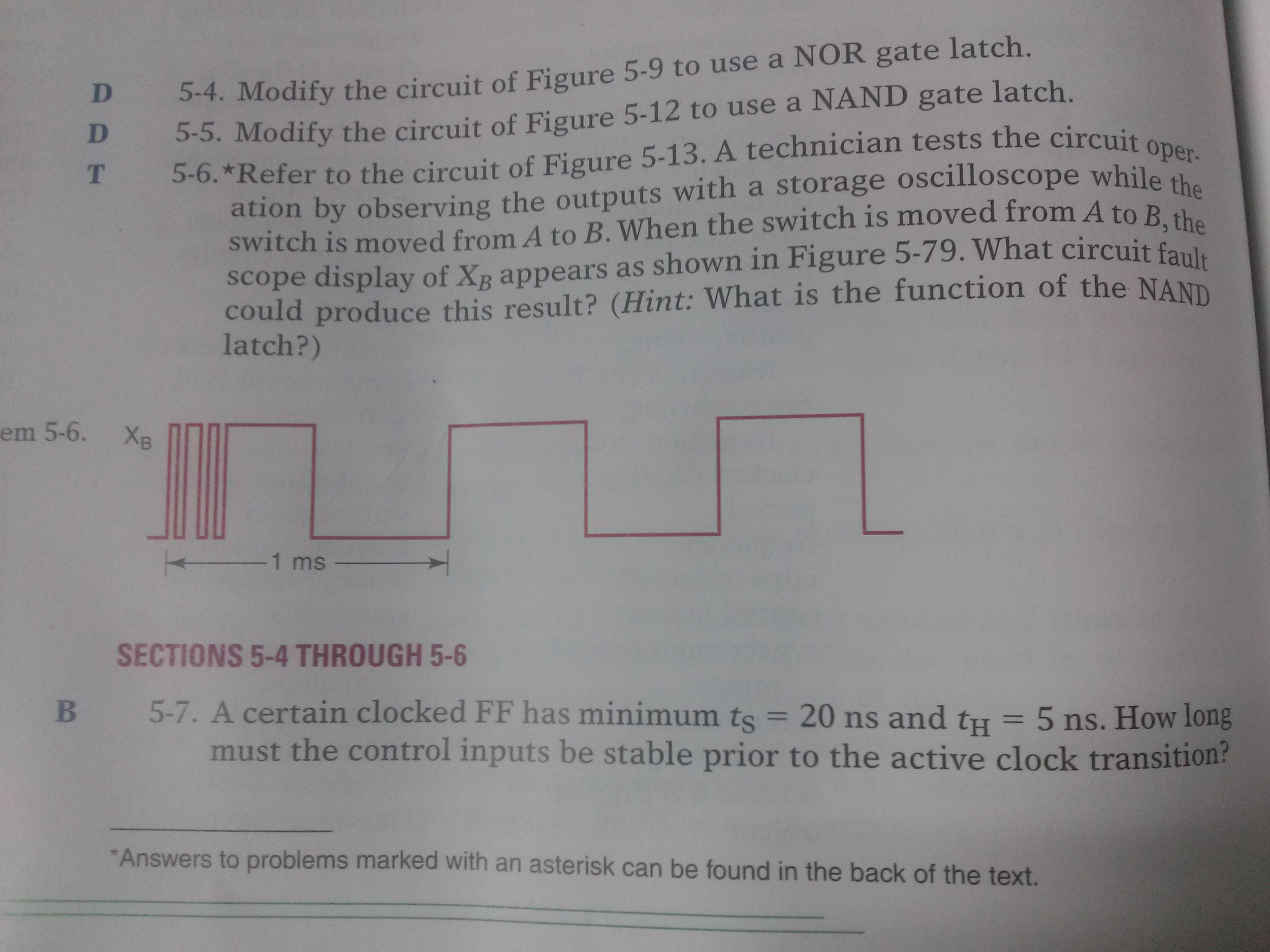 Need a help on number 6..