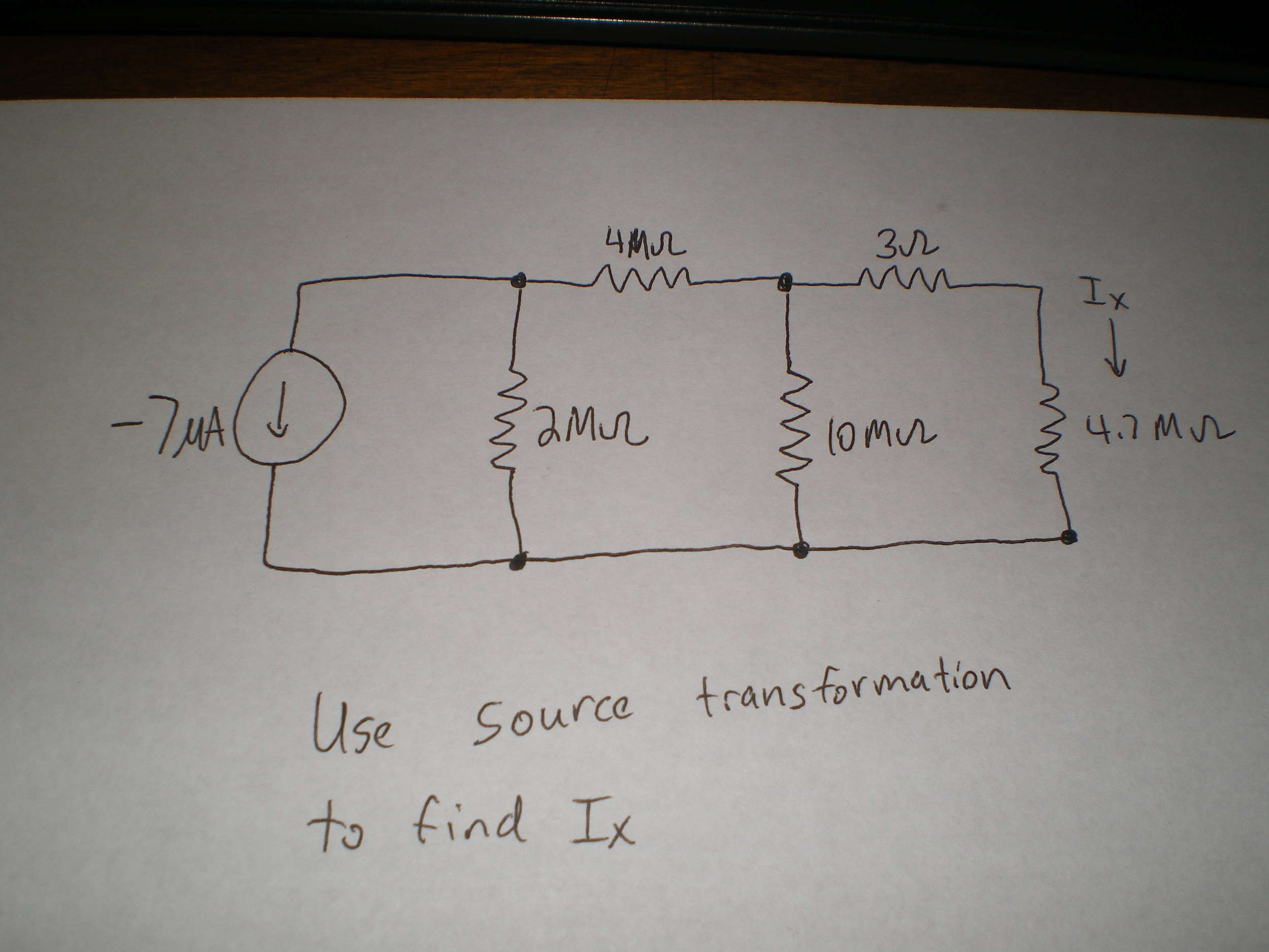 Use source transformation to find Ix