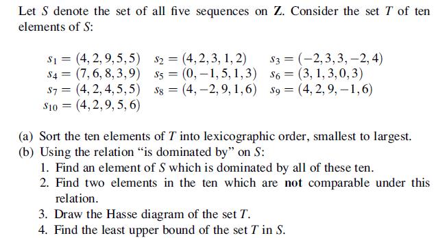 Discrete math problem help let s denote the set of chegg discrete math problem help let s denote the set ccuart Image collections