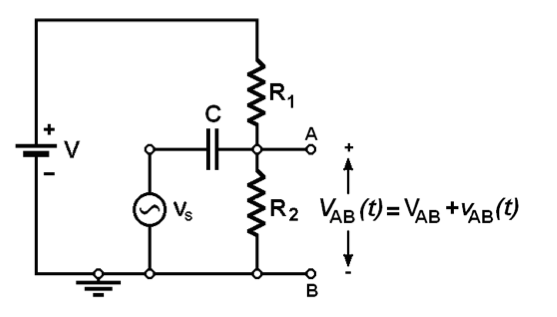 Solve the circuit shown below, applying the superp