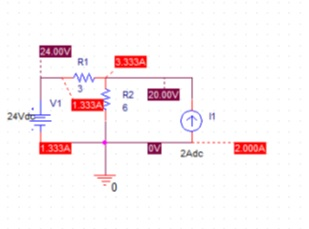 For the below circuit, we are supposed to verify t