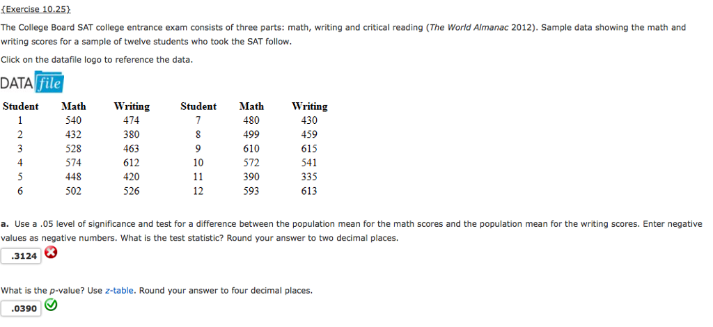 Here's a sample page of the SAT-10 practice test in math for kindergarten.