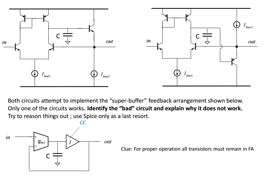 Solved: Both Circuits Attempt To Implement The \