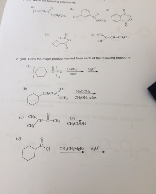 Chemistry Archive November 13 2017 Chegg Com