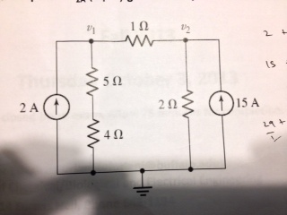 use node voltage method to&nbs