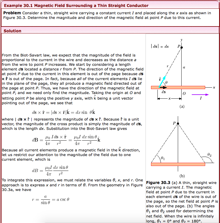 Solved consider a thin straight wire carrying a constant example 301 magnetic field surrounding a thin straight conductor problem consider a thin straight wire keyboard keysfo Images
