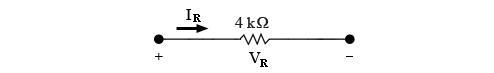Suppose that the phasor current is given by IR=75<