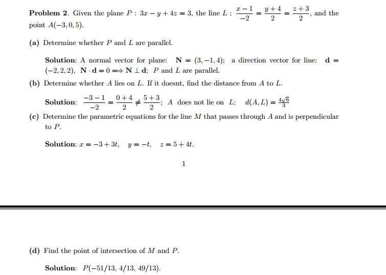 do it on paper all of them  step by step  must be Gaussian Curvature Normal Vector Plane Outline Vector