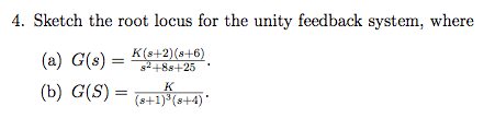 For a negative unity feedback system, where G(s)