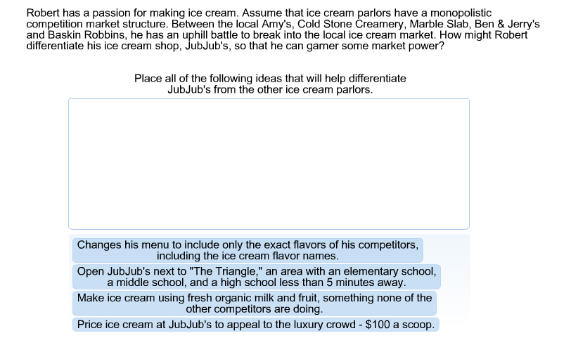 Solved robert has a passion for making ice cream assume question robert has a passion for making ice cream assume that ice cream parlors have a monopolistic comp ccuart Gallery