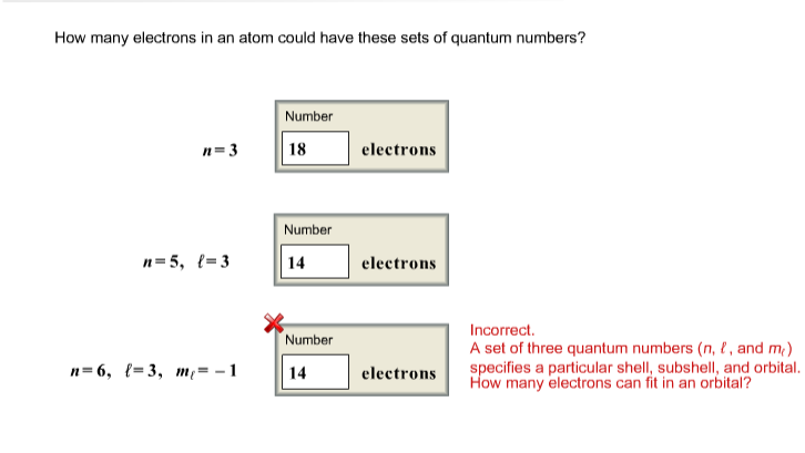 how to find ml quantum number