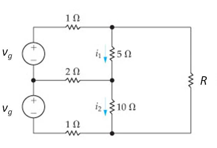 In the circuit shown in the figure, the current i1