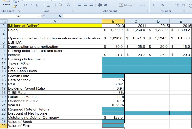 net present value and attached excel Hey guys i'm having a problem with a particular npv formula i think i'm entering it correctly, but i keep getting 0 as an output here is what i have as my formula: =npv(b4,c33:g33) and this is what it is supposed to execute: calculate the net present value (npv) of the ice truck business using the cash flow values in the cell range c33:g33 as the yearly returns, and using the value in cell.