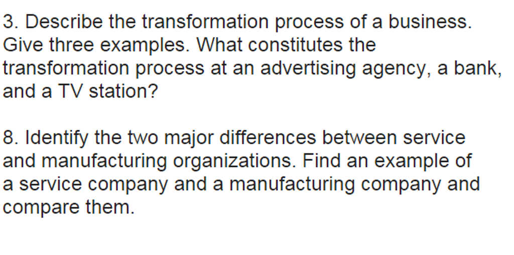 business as a transformation process Or acl e d at a sh e et business process management – business process transformation in today's ever-changing business environment, transform or perish is the.