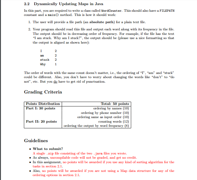 1 Overview This Assignment Is About Hash Tables U  Cheggcom
