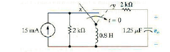 The switch in the circuit shown in following circu
