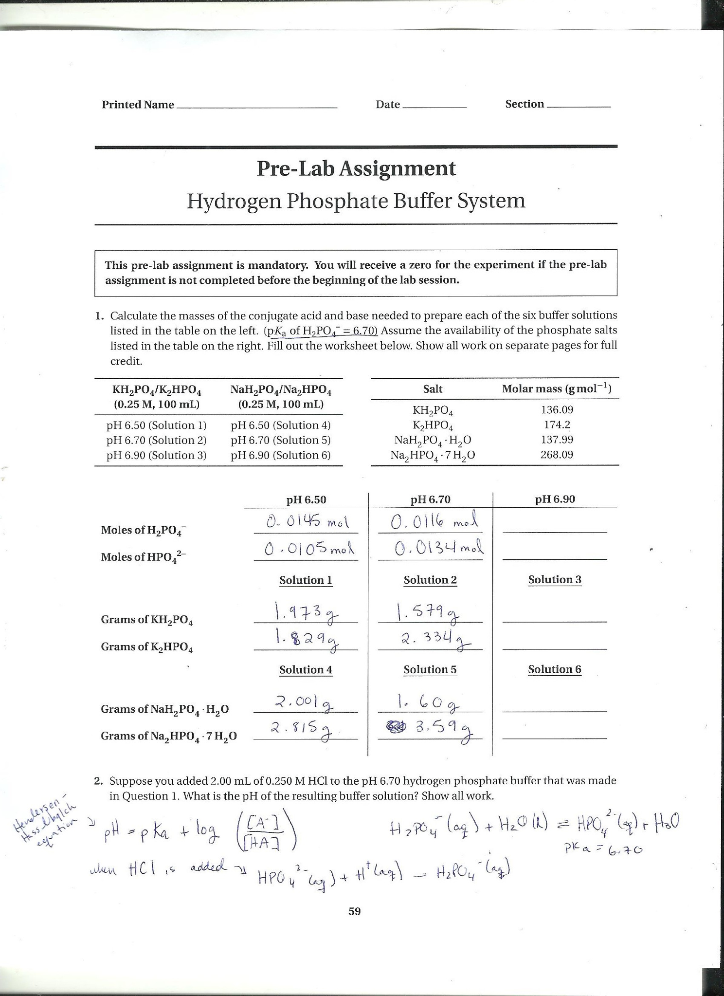 PLEASE HELP Calculate The Masses Of The Conjugate – Conjugate Acids and Bases Worksheet