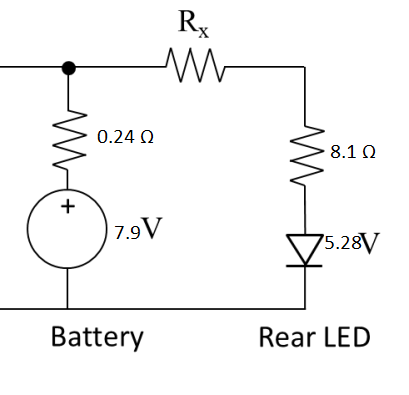Solved: Calculate The Value Of The Resistor Rx Between The ...