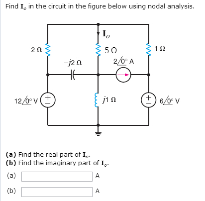 Find I0 in the circuit in the figure below using n