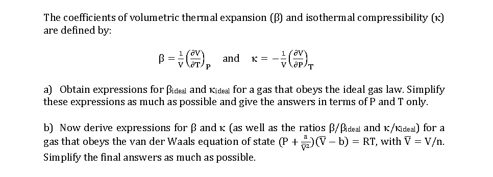 compressibility definition. question: the coefficients of volumetric thermal expansion (p) and isothermal compressibility (k) are defin. definition