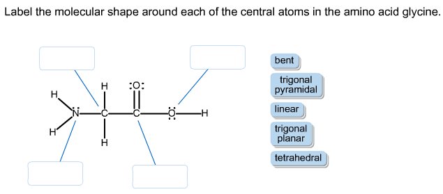 how to know the central atom in a molecule
