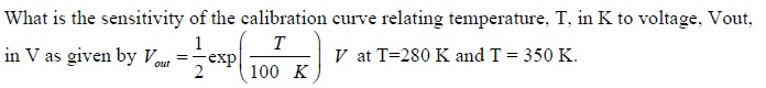 What is the sensitivity of the calibration curve r