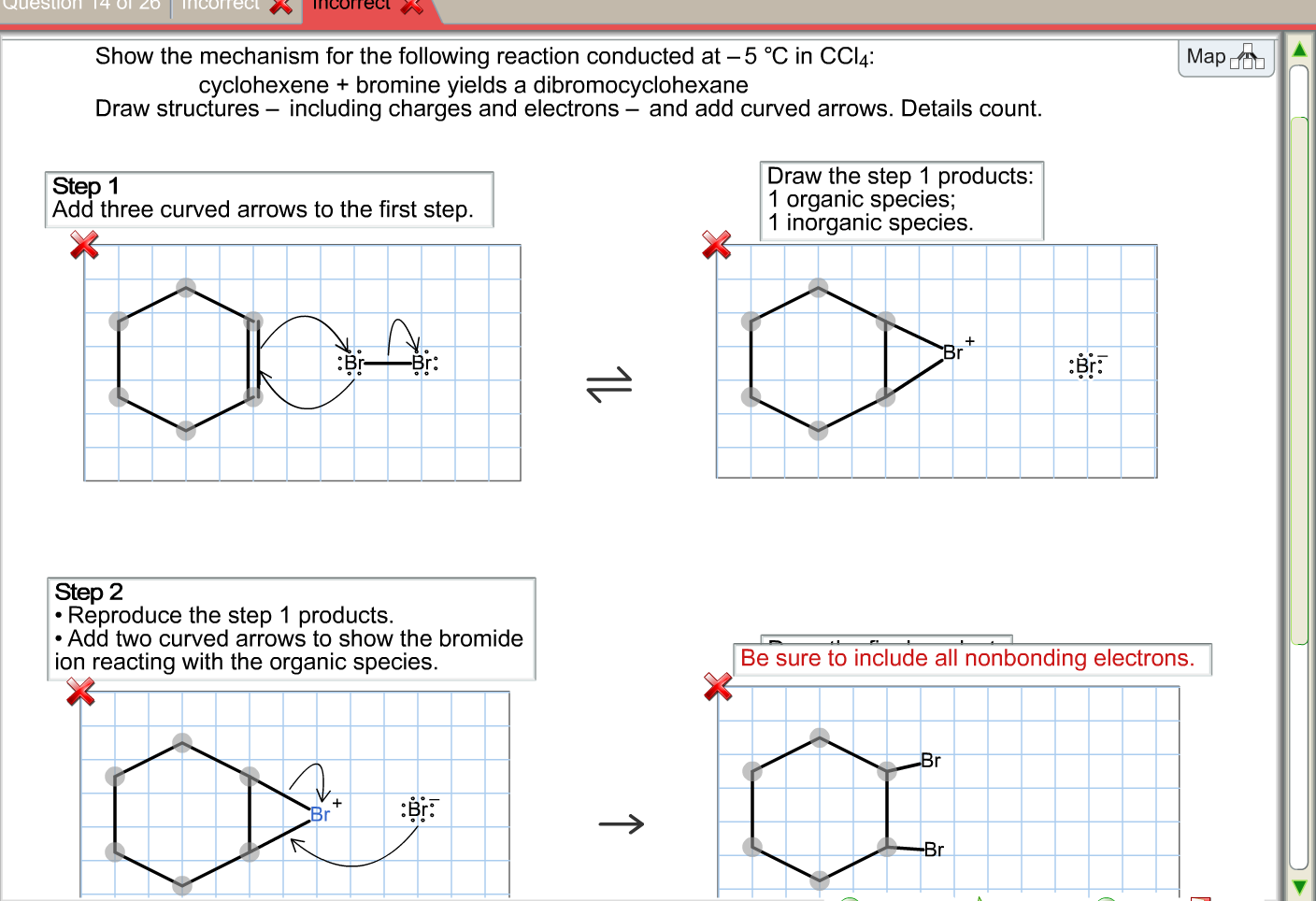 show the mechanism for the following reaction cond chegg com organic chemistry help