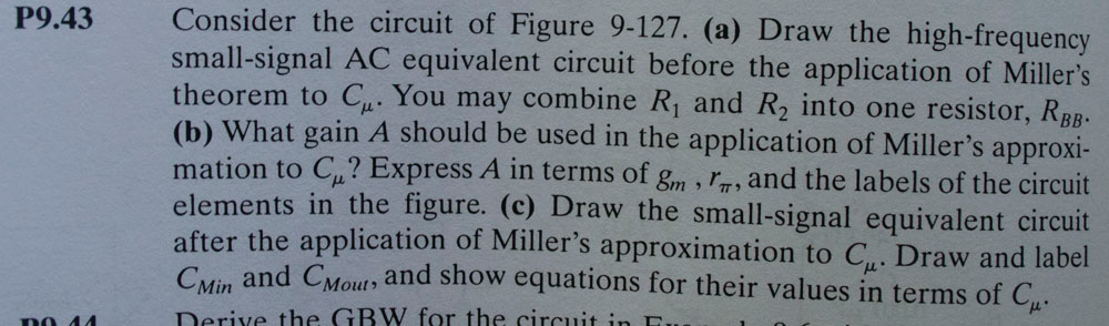 Consider the circuit of Figure 9-127. (a) Draw the