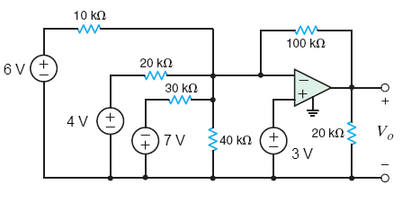 Find Vo in the circuit in the figure bel